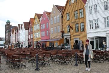 Bergen's famous waterfront